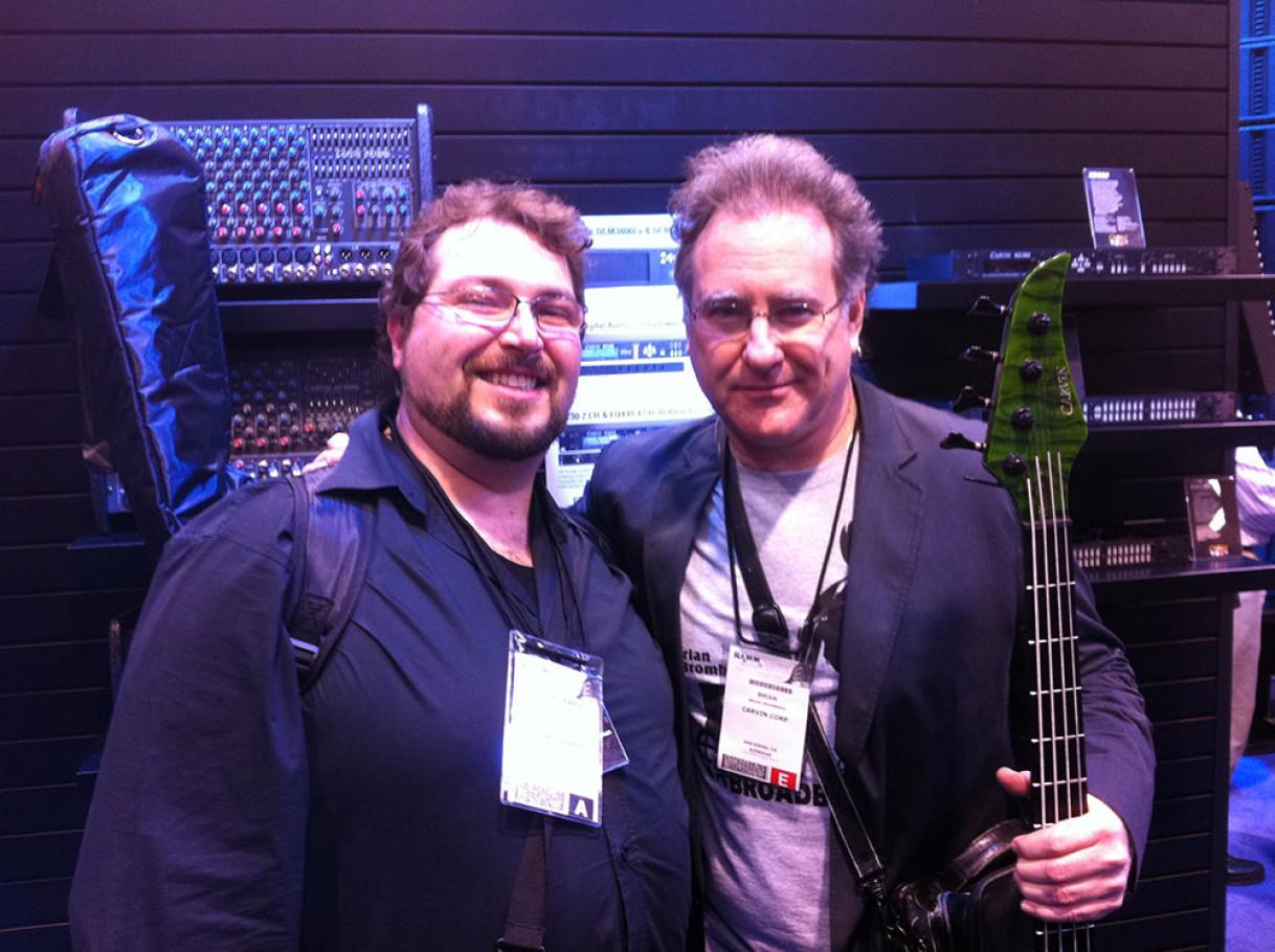 Me & Brian Bromberg