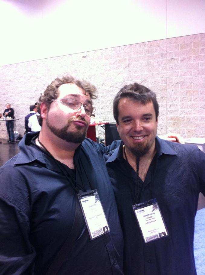 Me & Damian Erskine