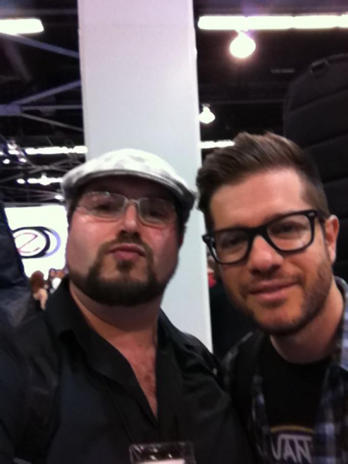 Me & Mark Peric