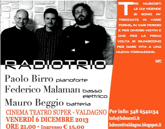 Paolo Birro,Mauro Beggio,Federico Malaman